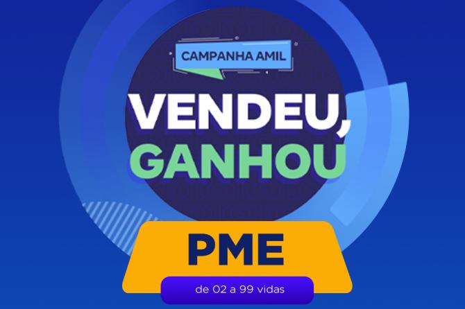 AMIL Vendeu, ganhou!